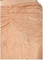 Alice McCall Büzgülü Midi Dantel Etek Pudra